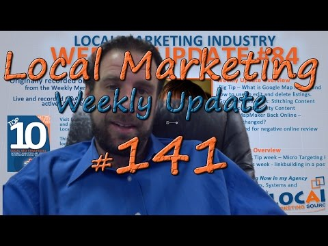 Local Marketing Industry Weekly Update - #141 - 12/30/14 -  What I Learned in 2014