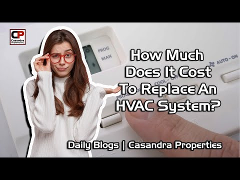 How Much Does It Cost To Replace An HVAC?   Real Estate