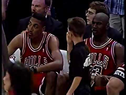 RARE FOOTAGE: 1992 Chicago Bulls Back 2 Back NBA Championship NBC 5 Video