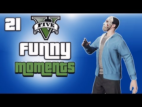 GTA 5 Online Funny Moments Ep. 21 (Hair...
