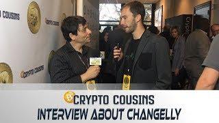 Interview with Changelly CEO Konstantin Gladych | 2018 Bitcoin Ethereum Blockchain Super Conference