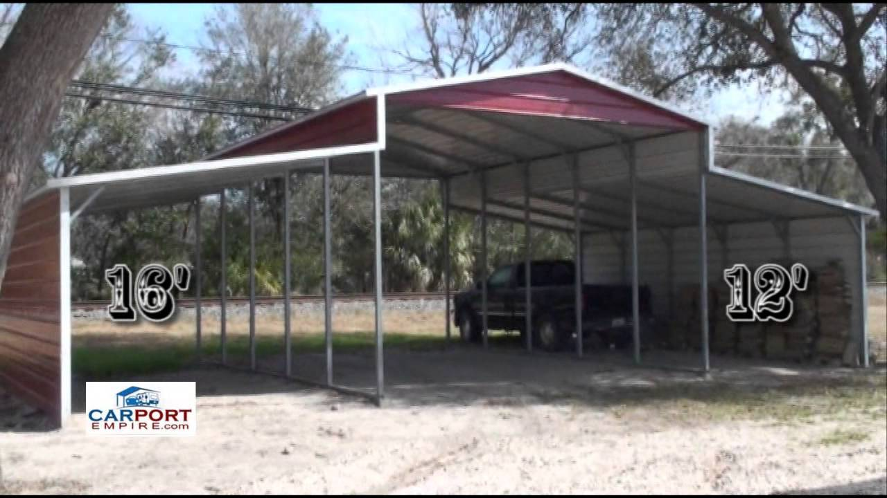 Steel Barns - 42'X26' Steel Barn, Garage, Lean To Building ...