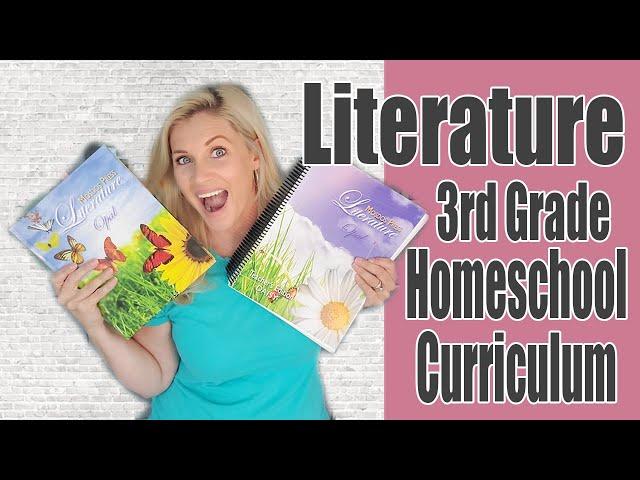3rd GRADE LITERATURE HOMESCHOOL CURRICULUM | Mosdos Press Opal | Secular Language Arts Curriculum
