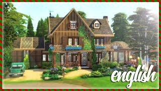 En ☀️ Country Family Home 🌲 || The Sims 4: Speed Build Cc Free