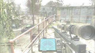 Call Of Duty Modern Warfare 3. Fast Zoom Kill Together With A Nozoom Kill While Flashed