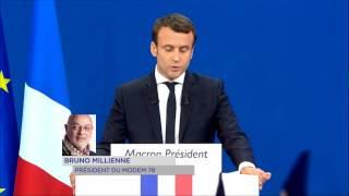 En Marche ! : Emmanuel Macron en tête dans les Yvelines