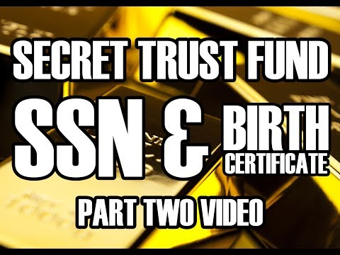 Secret Trust Fund - SSN & Birth Certificate - Heather Tucci