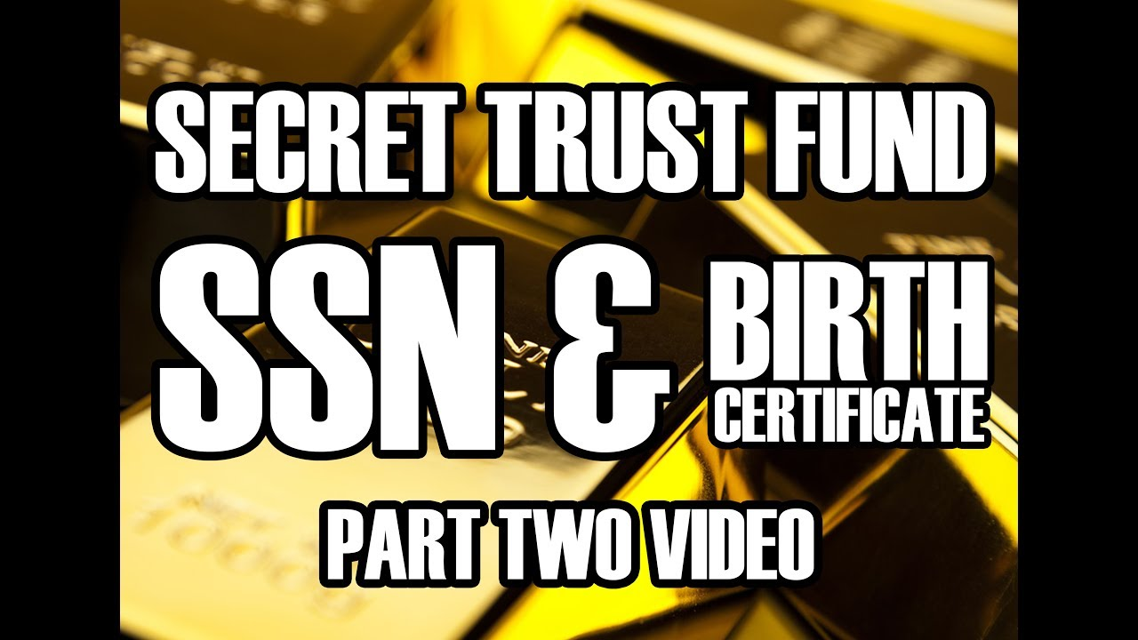Secret Trust Fund Ssn Birth Certificate Heather Tucci How To