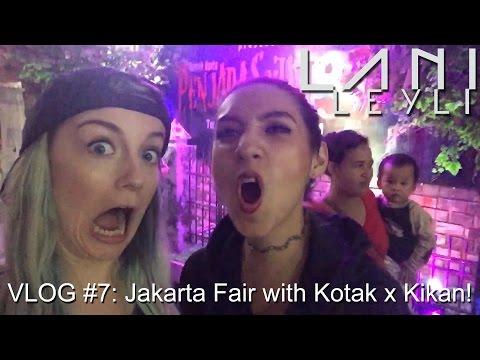 VLOG #7: Jakarta Fair PRJ with KOTAK X KIKAN!