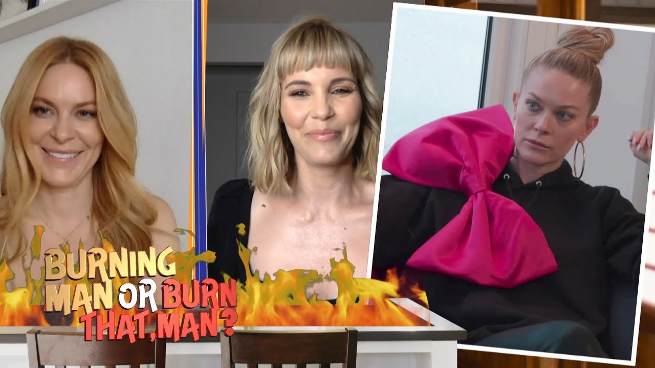 Leah McSweeney & Leslie Bibb Rate Housewives Fashion | WWHL