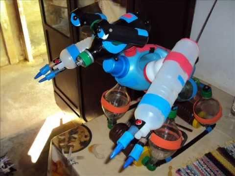 Robô De Material Reciclável Youtube