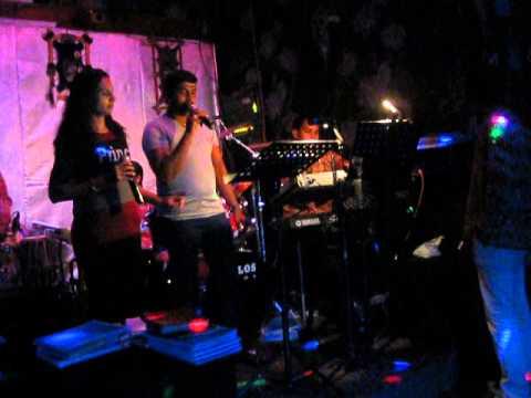 singapore jeeva singing @ Mohican tamil Pub