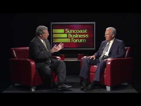 Wish Farms CEO, Gary Wishnatzki, is interviewed by WEDU Suncoast Business Forum