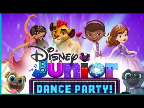 [4K HD] Disney Jr Dance Party Live at California Adventure