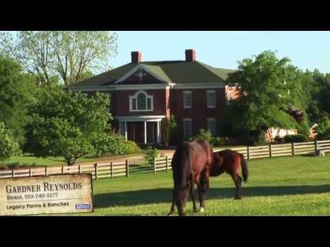 Horse Farm Property for Sale Near Liberty NC $1,495,000