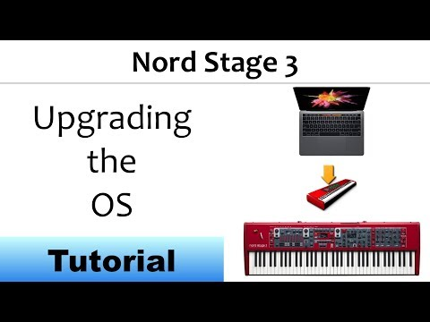 Nord Stage 3 Update The OS Software