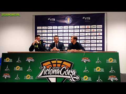 Stelmet Enea BC Zielona Góra vs. PBC Astana – post match press conference (29.10.2018) | ZGSPORT.PL