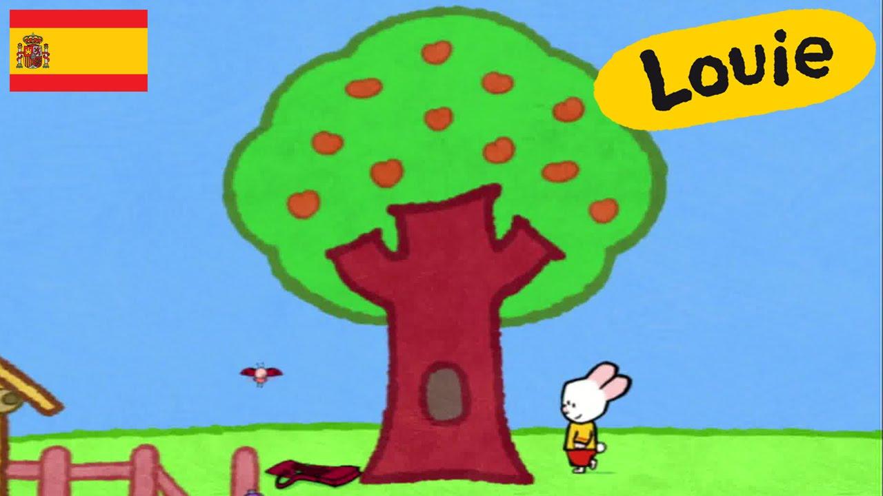 Arbol Louie Dibujame Un árbol Dibujos Animados Para Niños Youtube