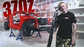 Красный и опасный Nissan 370 Z