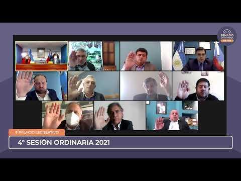 EN VIVO: Cuarta Sesión Ordinaria 2021