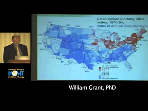 William Grant, PhD discusses the role of Vitamin D in gum disease at IAOMT 2010 Galloway