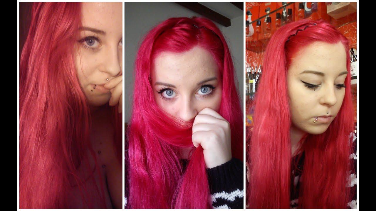 Shatush su capelli rossi tinti