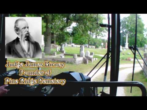 Bus Tour - Pine Ridge Cemetery History by Dave Rogers