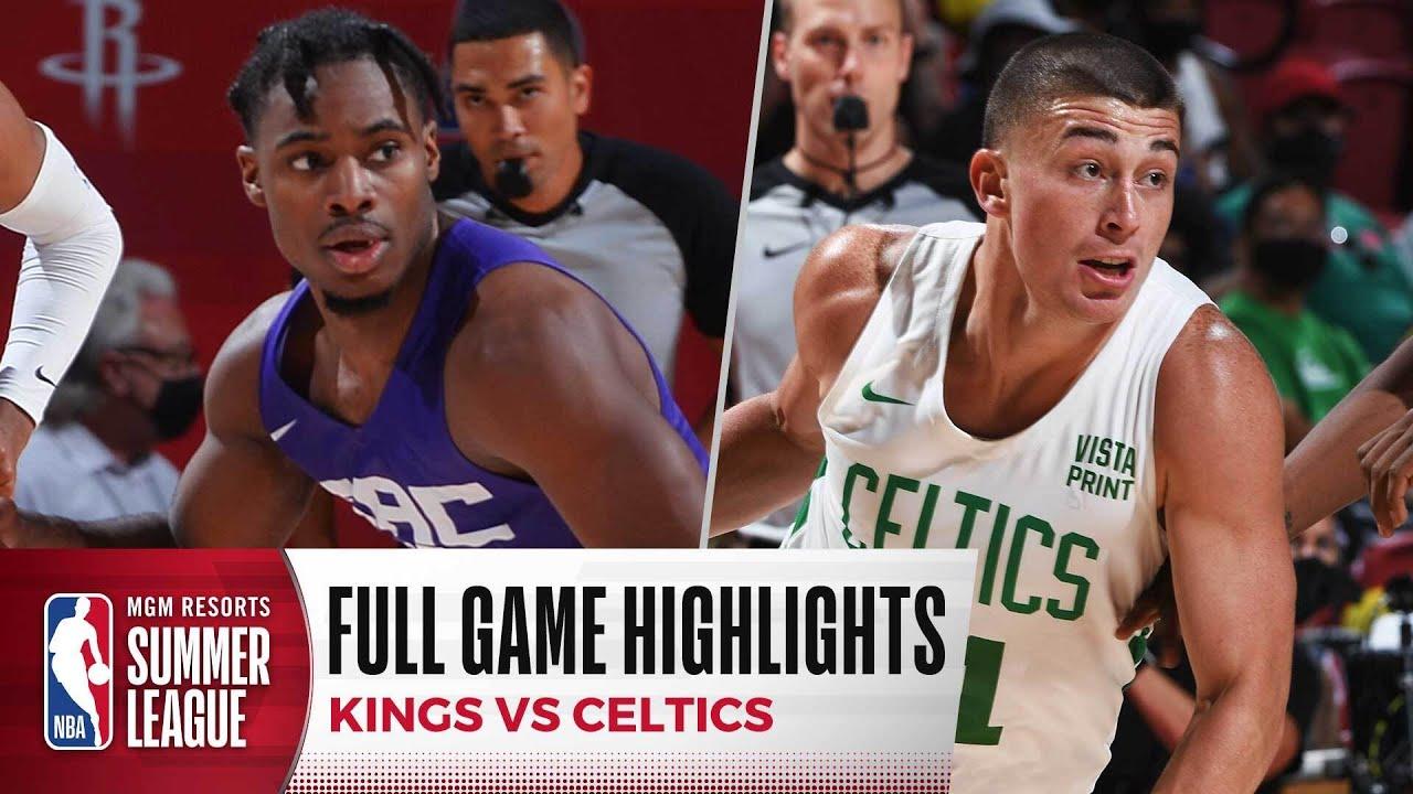 Download KINGS at CELTICS | NBA SUMMER LEAGUE | FULL GAME HIGHLIGHTS
