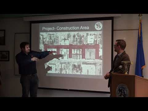Curry Street Pre-Construction Meeting