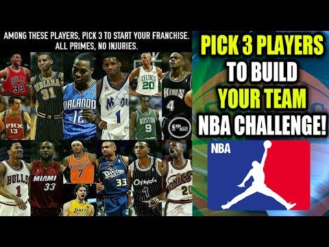 PICK 3 NBA LEGENDS TO START YOUR FRANCHISE! 82-0 CHALLENGE! NBA 2K18 MY LEAGUE