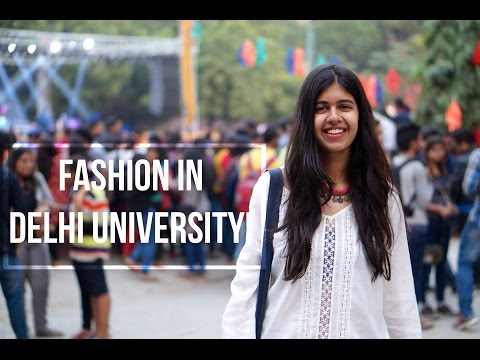 Fashion in a Delhi University Fest!| Sejal Kumar
