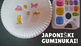 Eksperimentas: JAPONIŠKI GUMINUKAI!
