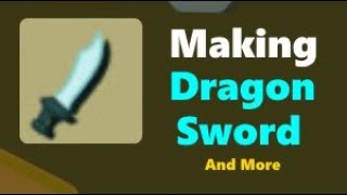 Starve Io Making Dragon Sword And More