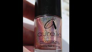 видео Лаки для ногтей Aurelia (Аурелия): палитра и особенности