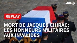 REPLAY - Mort de Jacques Chirac: les honneurs militaires aux invalides