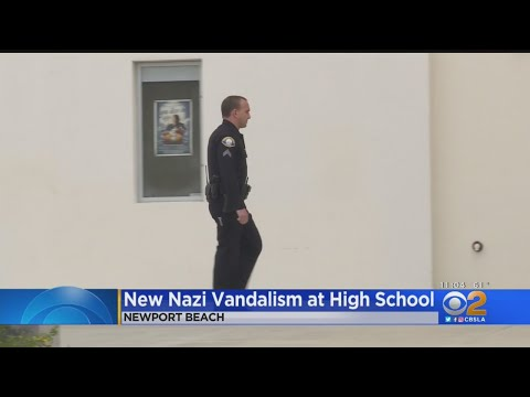 High School In Newport Beach Vandalized With Nazi Posters