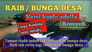 RAIB / BUNGA DESA TANPA KENDANG DAN MELODY