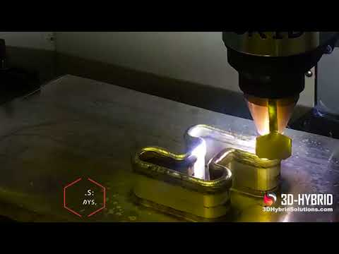 0 - 3D-Hybrid verwandelt CNC-Maschinen in Metall-3D-Drucker