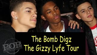 Checking in with the Bomb Digz on their Gizzy Lyfe tour!