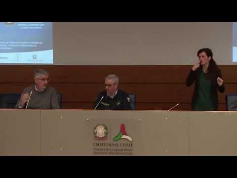 Coronavirus, conferenza stampa della protezione civile