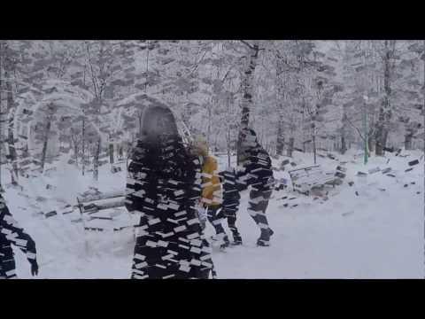 Видео Зима, Снег, Снежная сказка В зимнем парке Бреста
