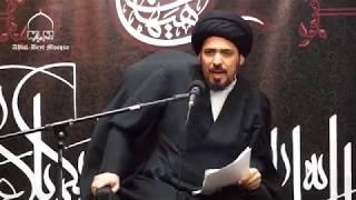 السيد منير الخباز - الرد على شبهة إصابة النبي صلى الله عليه وآله وسلم بمرض الفص الصدغي