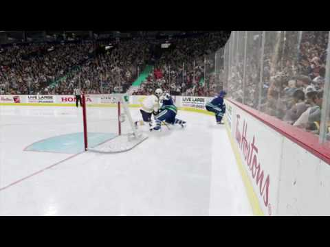BIGGEST HIT IN THE NHL!