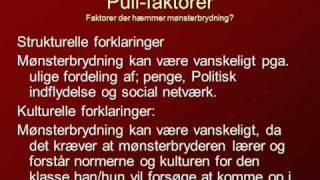 Samfundsfag Mønsterbryder - Mattis, Søren, André og Vincent