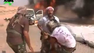 Скачать The Moment Of Death Of One Of The Leaders Of The Rebels Misurata