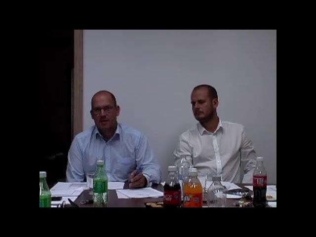 Kábelstúdió Csetény élő közvetítése