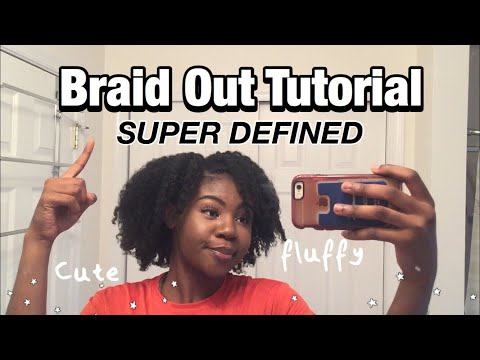 SUPER DEFINED Braid Out (4c Natural Hair) STEP BY STEP! | Beginner Friendly| banartey