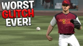 1000% The Worst Glitch I Have Ever Seen! MLB The Show 18   Battle Royale