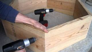 How To Build A Raised Bed Hexagon - Square Foot Vegetable Garden