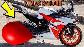 KTM VS BALLOON | EXPERIMENTS |MR INDIAN HACKER